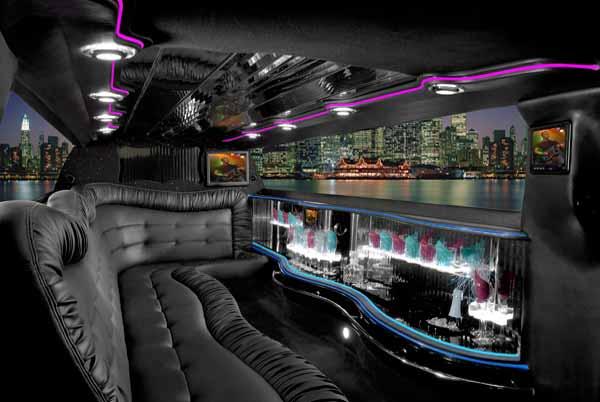 Chrysler 300 Limo Interior Las Vegas