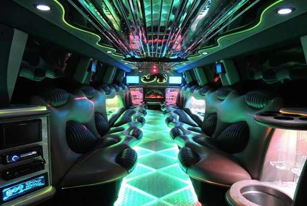 Hummer Limo Interior Las Vegas