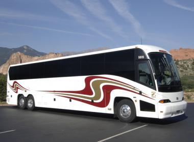 Las Vegas 50 Passenger Charter Bus