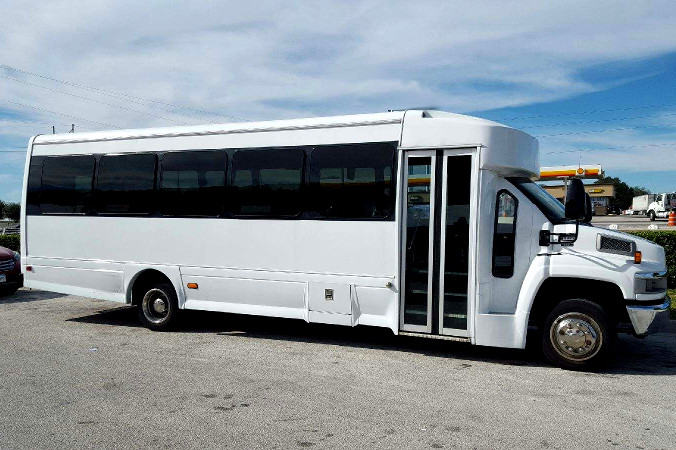 San Antonio 36 Passenger Shuttle Bus Rental